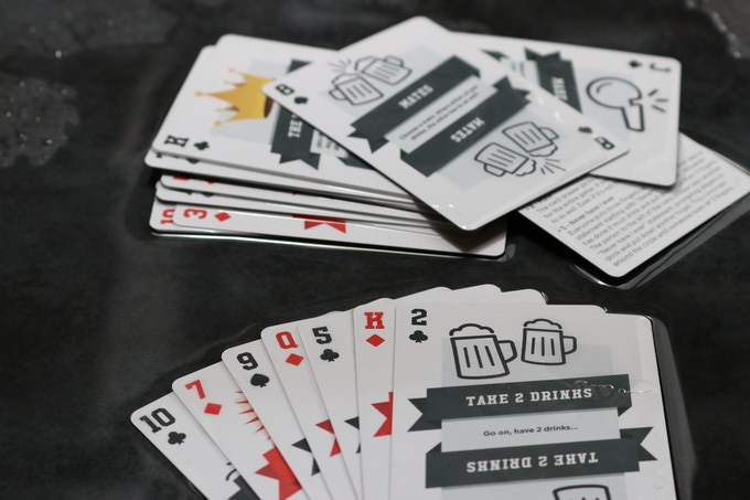 Kings Cup Cards are party proof!