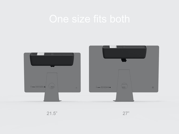 "Fits both 21.5"" and 27"" iMac"