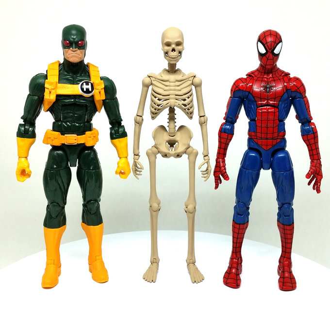 Height Comparison with Marvel Legends figures