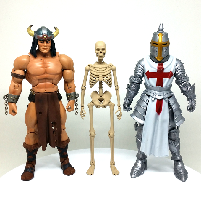 Height Comparison with MOTUC and Mythic Legion Figures