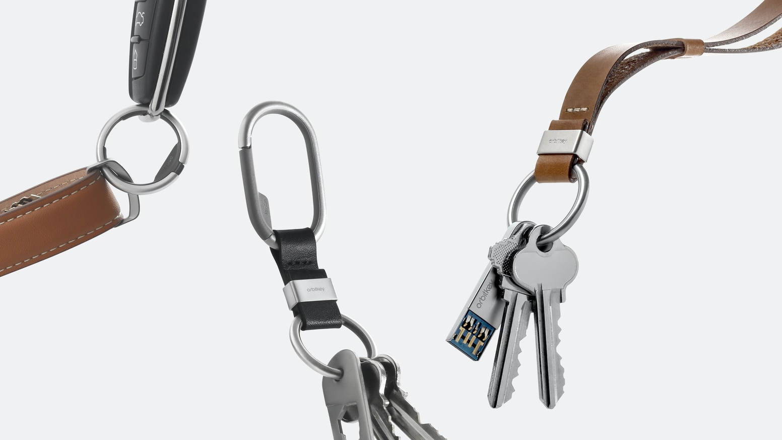 Orbitkey Ring, Clip and Strap - The Keyring, Reinvented.