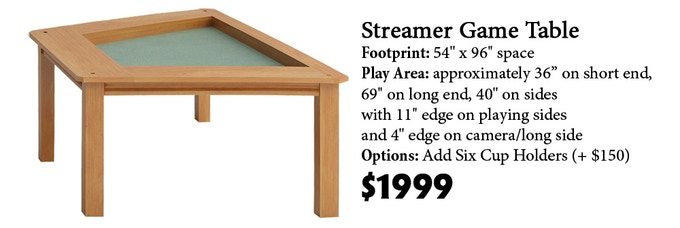 Click here to read more about the Streamer Game Table on our website!