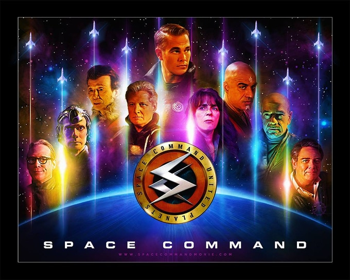 Official Space Command Poster