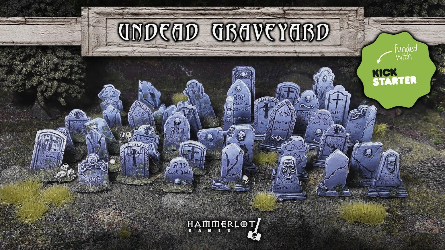 Undead Graveyard + Dead Grass