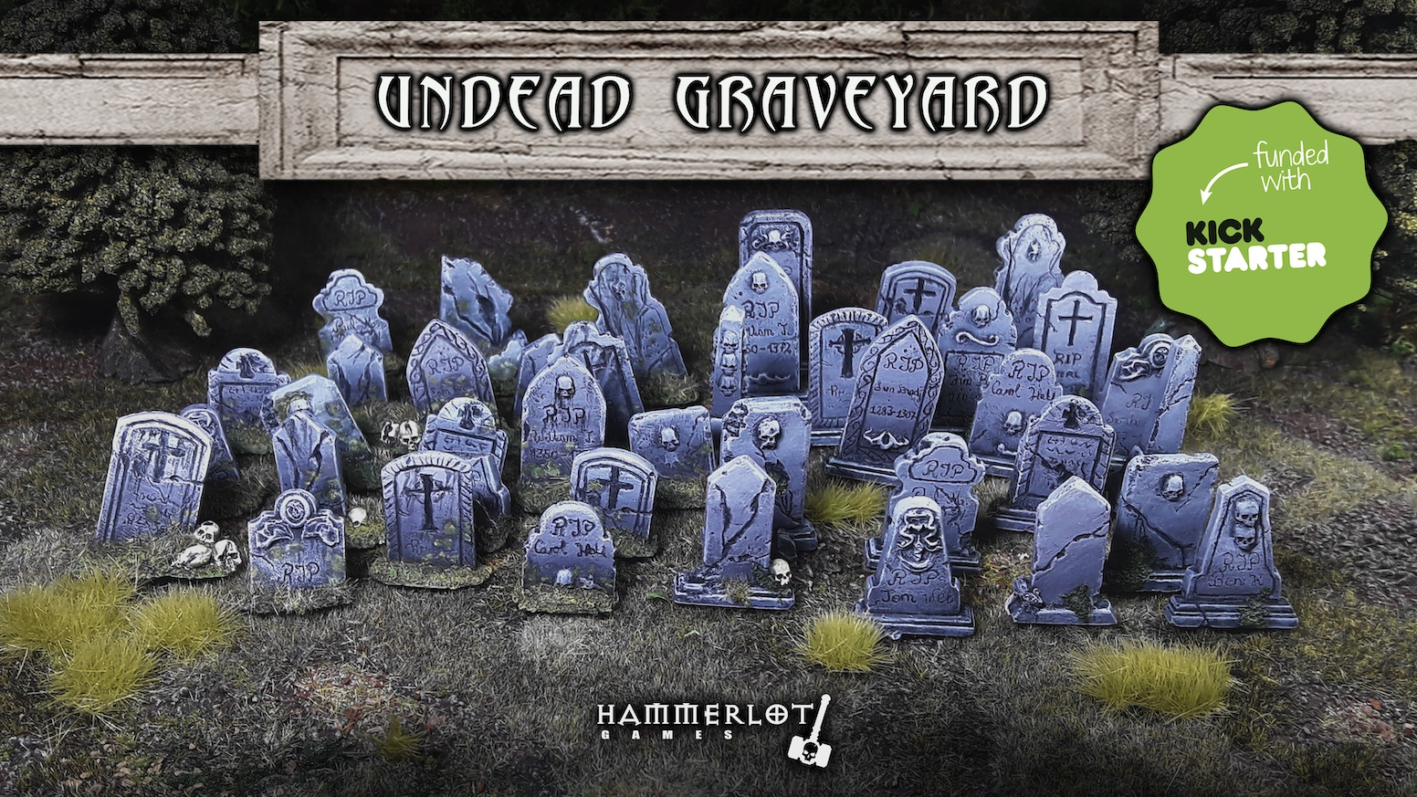 Undead scenery, zombies miniatures 28/30mm. Board games, tabletop, RPG, wargames. Fantasy, for painters, collectors and zombie lovers.