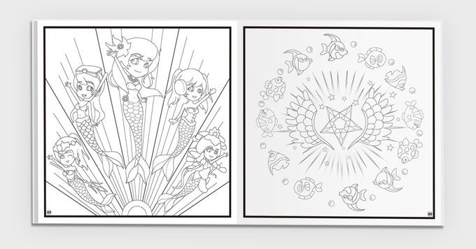 imagine vr is a merging of two concepts the long tradition of coloring books and state of the art vr technology - Botany Coloring Book