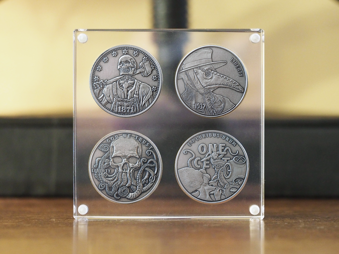 Hobo Coins Series Ii By Chris Ovdiyenko Kickstarter