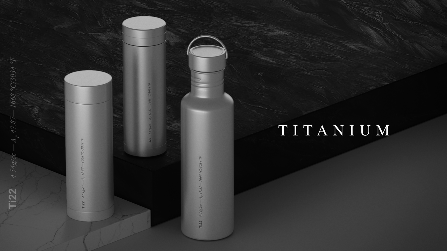 Anti-Bacterial, Anti-Corrosion, Anti-Leak. Made with medical implant grade pure titanium. Therma™ is more than just a luxurious flask.
