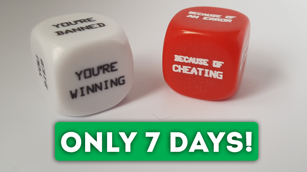 Gaming Excuse Dice Comeback! project video thumbnail