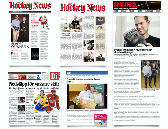 A few of many articles about Marsblade´s success over the years.