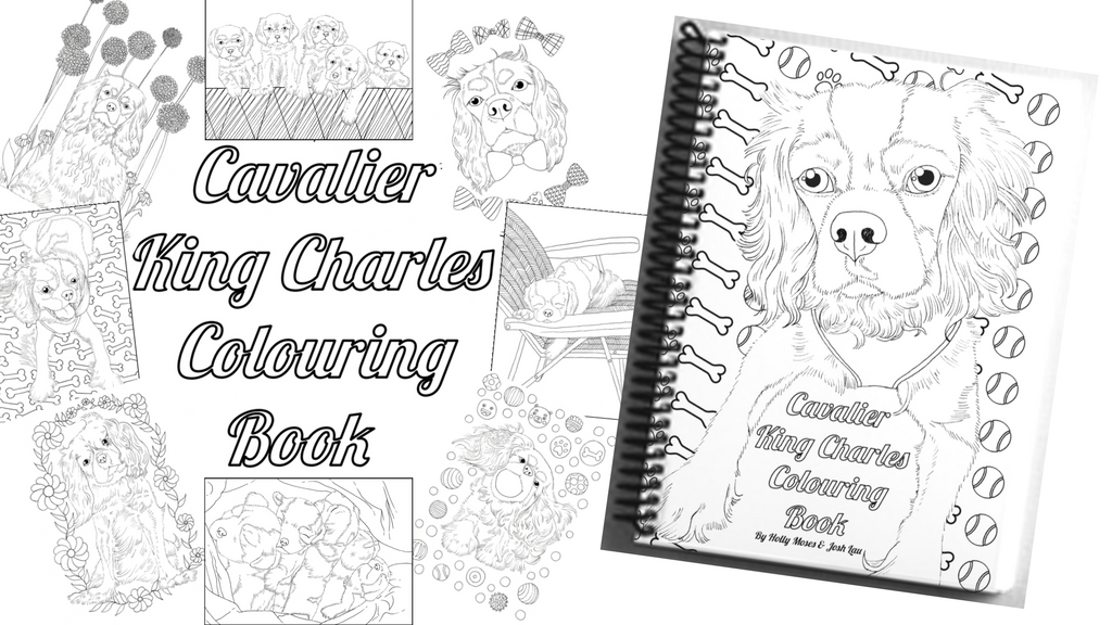 The Cavalier King Charles Colouring Book