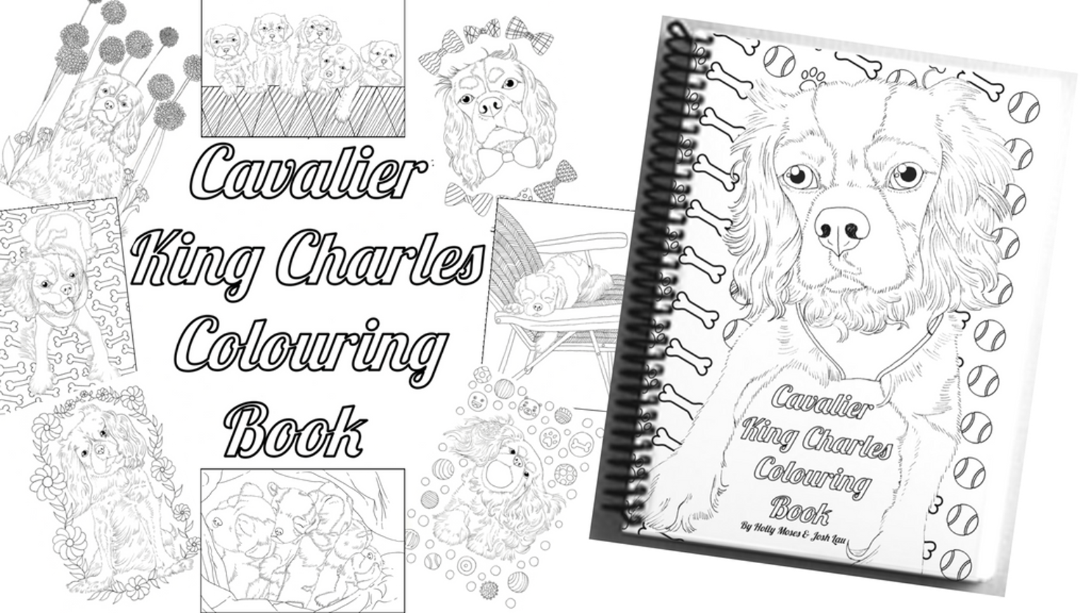 The Cavalier King Charles Colouring Book - Adult Colouring by ...