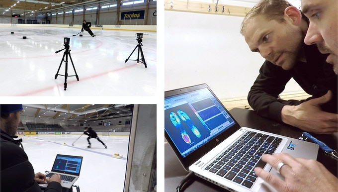 On-ice performance tests