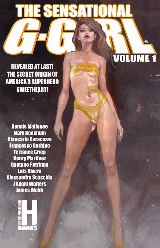 Beachum trade paperback and poster art
