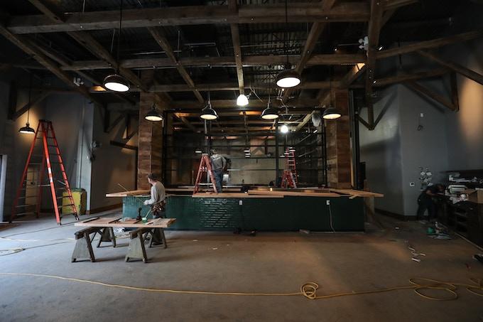 Brooklyn Cider House Brooklyn Location in Progress