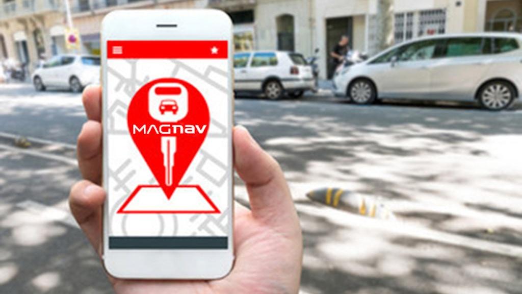 MAGNAV - World's first GPS car finder USB charging