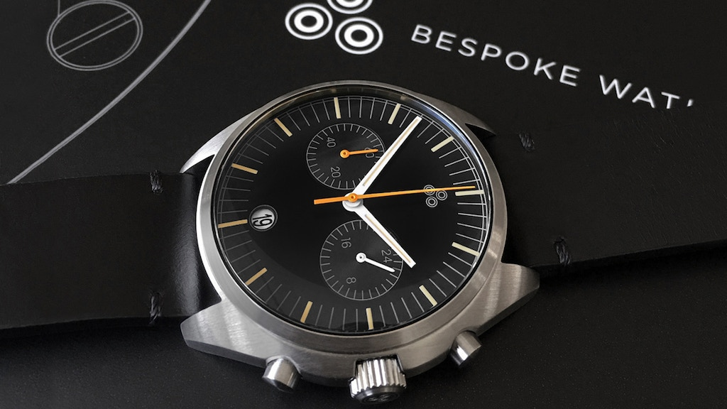 """The """"72 Flyback"""" Chronograph by Bespoke Watch Projects project video thumbnail"""