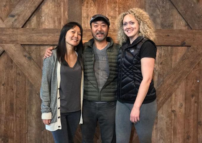 Founders: Susan Yi, Peter Yi, and Lindsey Storm