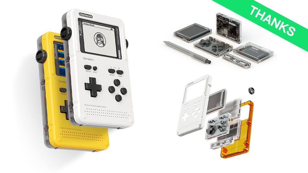 GameShell, Open Source Retro Gaming & STEM Portable Console
