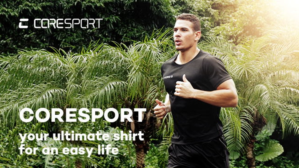 CoreSport Workout Shirt: the more perspire the cooler project video thumbnail