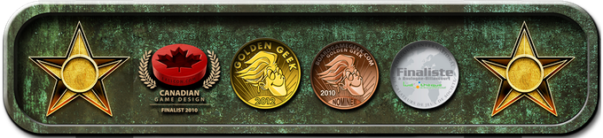 D-Day Dice has been nominated for a number of awards and won the Golden BGG award for the Print and Play version in 2012.