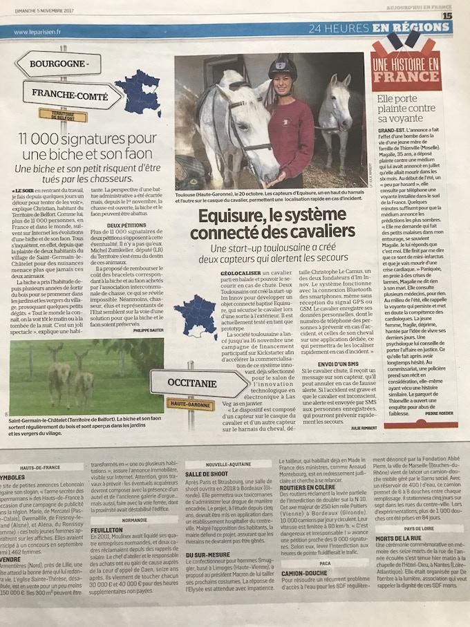 Aujourd'hui en France - 13/11/2017