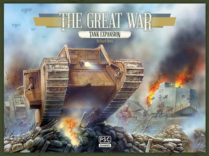 The Great War's first expansion - Tank.