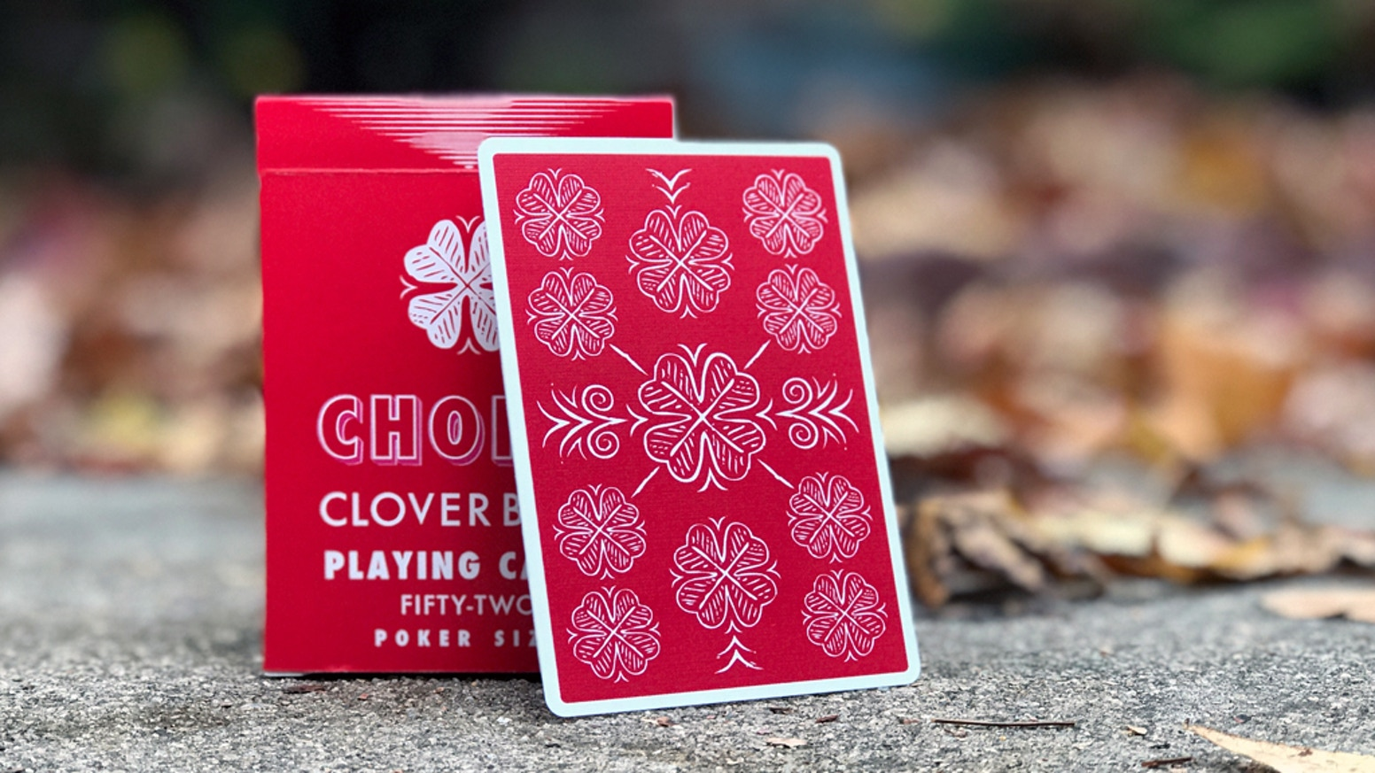 Choice Cloverback Playing Cards Designed by Ben Kolozsi by Penguin ...