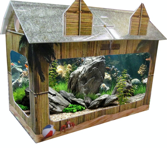 The Tiki Hut Tank House
