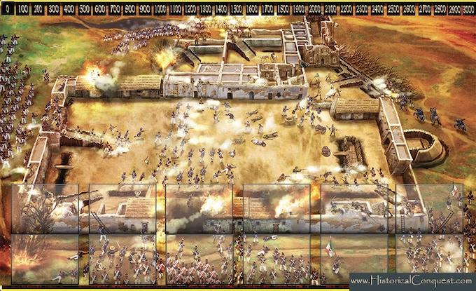 Kickstarter Exclusive Play Mat - The Siege of the Alamo