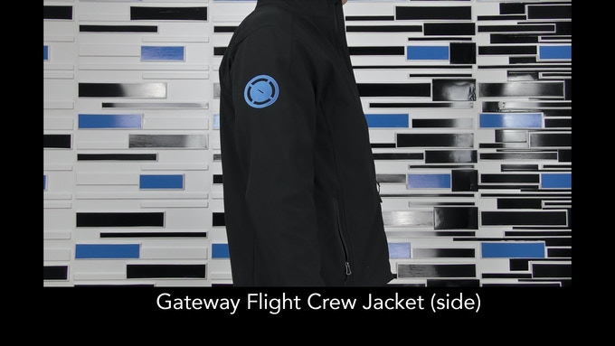 Gateway Flight Crew Jacket - Side