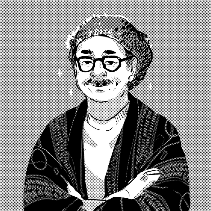 Portrait of Nobuo Uematsu by sparrows