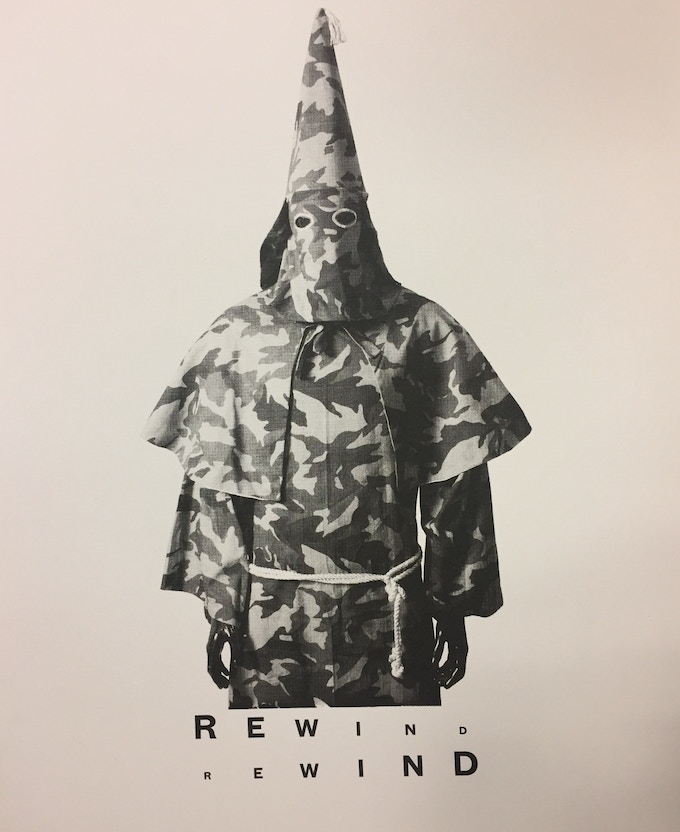 REWIND Limited Edition Screen Print - Medium - signed (see and $500 pledge)