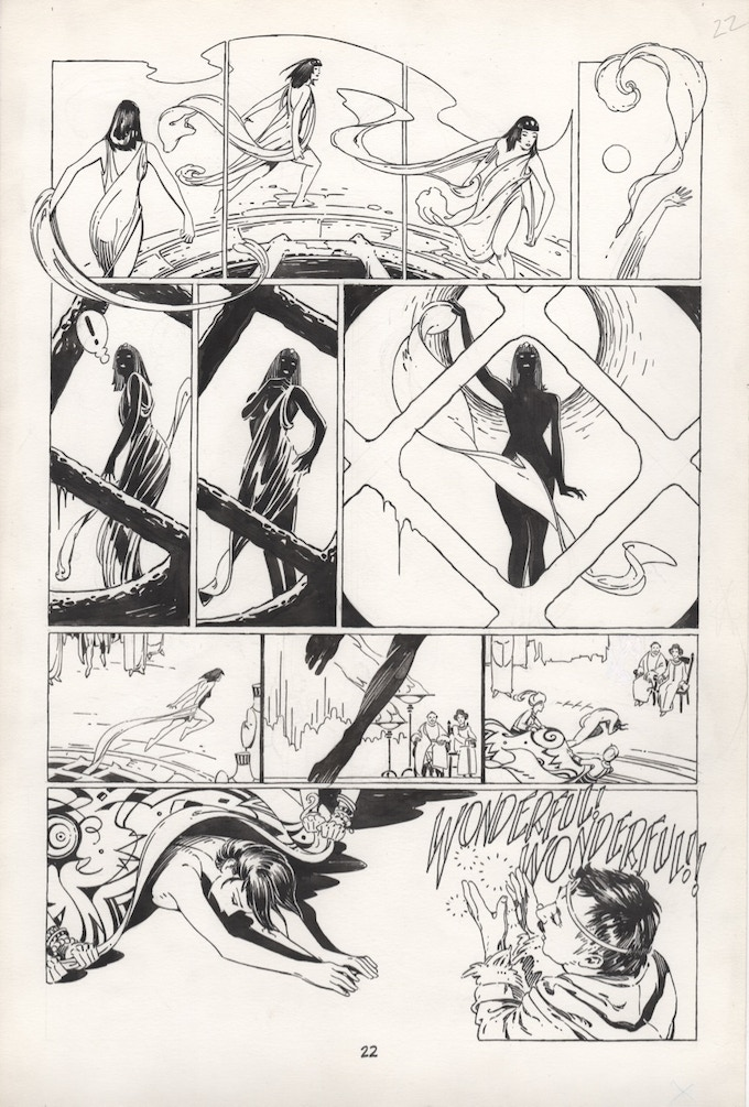 "Sample page from ""Salome"""