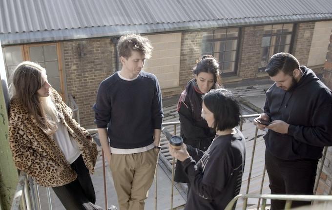 Reflex Kickstarter Team; Naomi, Laurence, Bryony, Keymea, Carlos