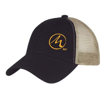 Suitable for men and women. 100% Washed Cotton Twill Crown, Cotton Twill Sweatband. Mesh back with adjustable plastic snap tab closure.