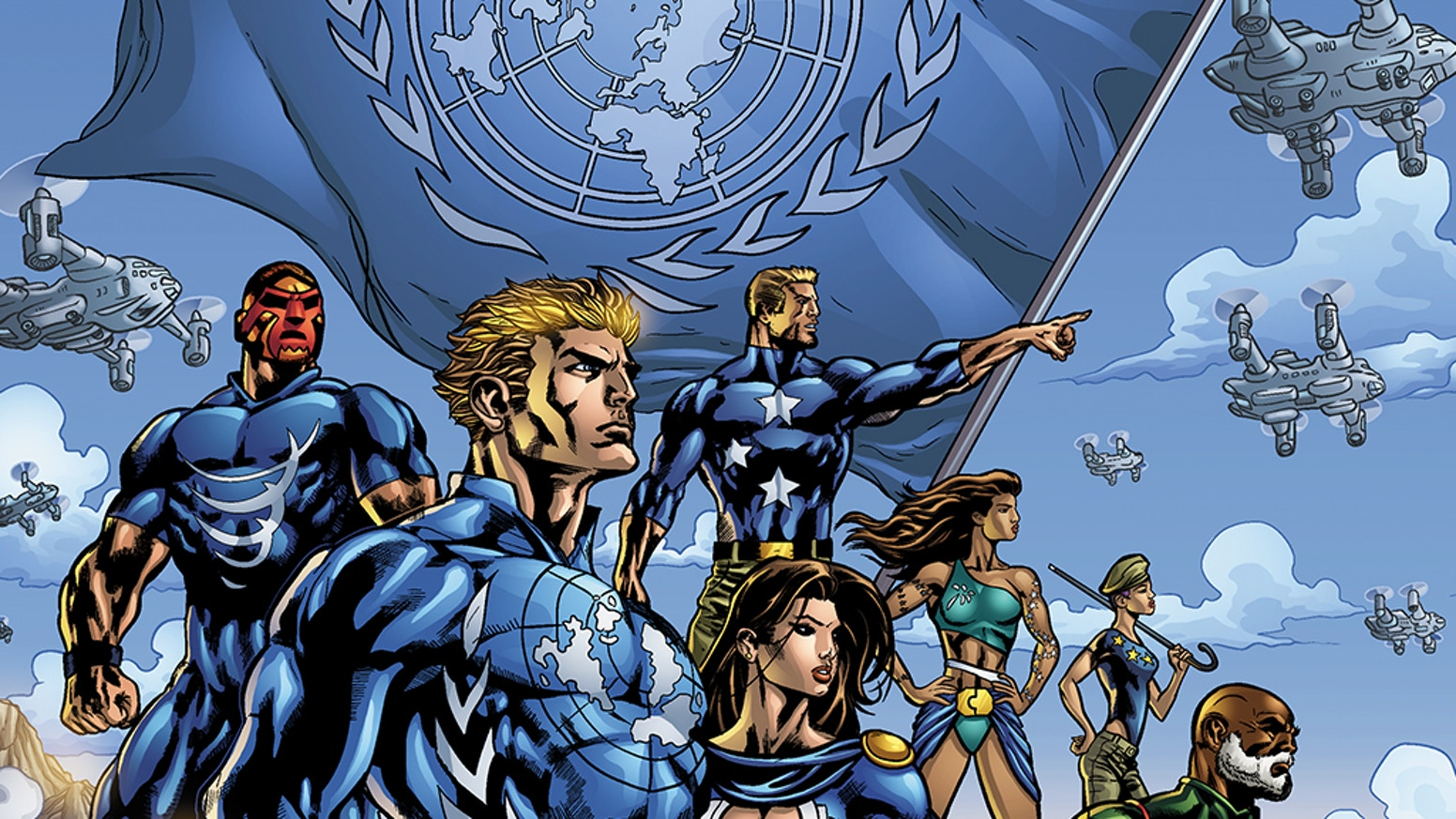 SUPER HUMANS NOW CONTROL THE U.N. AND WITH IT THE WORLD.