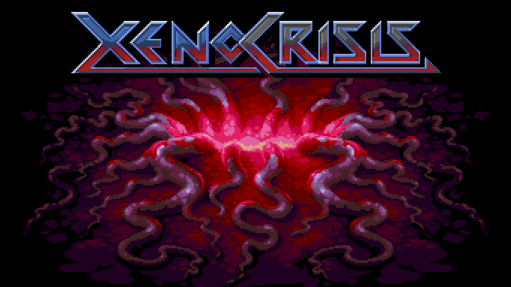 Xeno Crisis: a new game for the Sega Genesis / Mega Drive by Bitmap