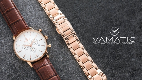 VAMATIC™: Swiss Made Watches With a Changeable Look