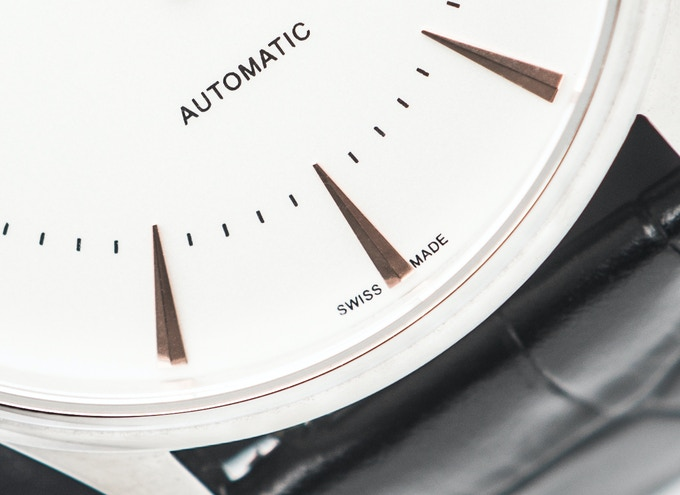 All our watches come with Swiss made label