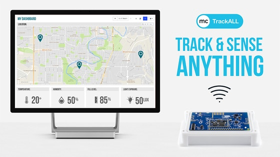TrackALL: A Wireless, Battery-Powered Asset Tracker & Sensor