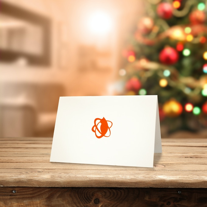 Boost anticipation and holiday cheer with the Cat Card