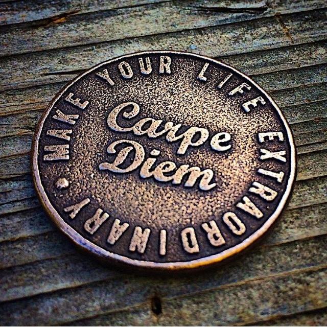 Original Carpe Diem Coin Design - Reverse