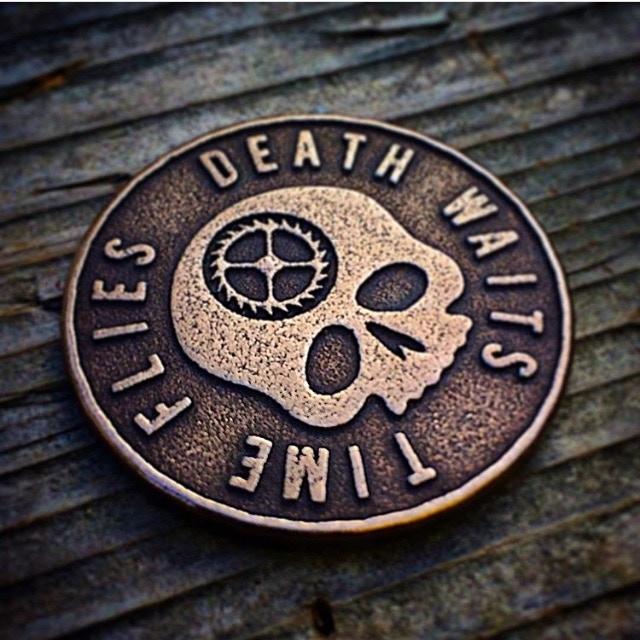 Original Carpe Diem Coin Design - Obverse