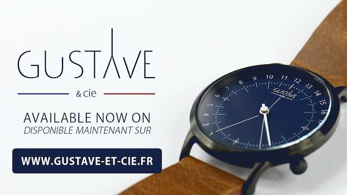 Oubliez les secondes insaisissables et les minutes oppressantes, découvrez une nouvelle vision du temps par GUSTAVE & cie - France