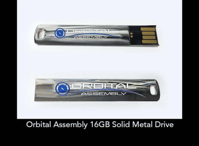 Orbital Assembly Solid Metal 16GB USB Drive