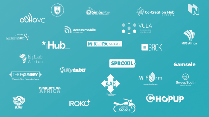 Some of the 30+ startups, VCs, and other organizations interviewed for Mobile Africa