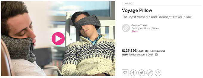 Voyage Pillow Campaign