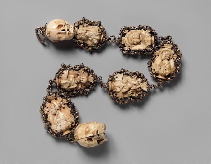 Memento Mori Rosary - Metropolitan Museum, New York
