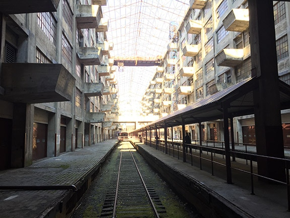 The Courtyard of Brooklyn Army Terminal